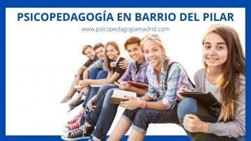 Psicopedagogía en el Barrio del Pilar
