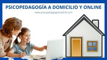 Psicopedagogía a domicilio y Online